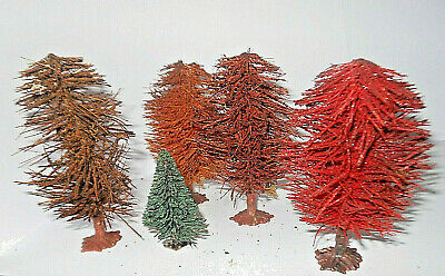 Copse Of Five Bottle Brush Trees - Autumn Colours • 2.22€