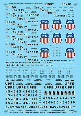 MicroScale 87242 Decal H0 - Union Pacific REMX Lease 57´ Reefers ´70-80 (87-242) • 9.40€