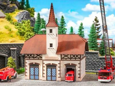 Noch Fire Station Laser Cut Structure Kit With Microsound N Gauge 63380 • 68.66€