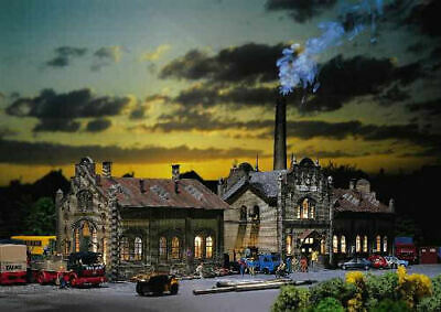 Faller Iron Foundry Building Kit I N Gauge 222185 • 81.01€