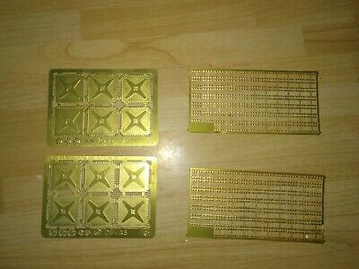 Etched Brass Water Tank Components • 5.63€