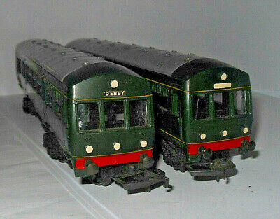 Triang R157/158 Br Green Two Car Dmu Great Runner Clean • 16.86€